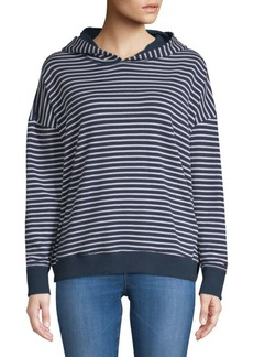Tommy Hilfiger Striped Crossover Hoodie