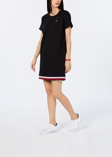 Tommy Hilfiger Sport Striped-Hem Sweatshirt Dress, Created for Macy's