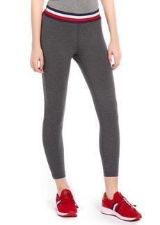 Tommy Hilfiger Sport Striped-Waist 7/8-Length Pants