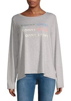 Tommy Hilfiger Tommy Sport Logo Long Sleeve Sweatshirt