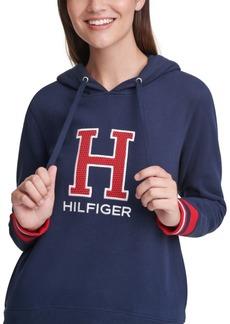 Tommy Hilfiger Sport Varsity Letter Hooded Sweatshirt