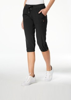 Tommy Hilfiger Sport Zip-Detail Cargo Capri Pants, Created for Macy's