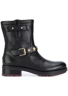 Tommy Hilfiger star strap ankle boots - Black