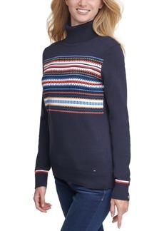 Tommy Hilfiger Stella Fair Isle Cotton Sweater