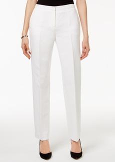Tommy Hilfiger Straight-Leg Linen Trousers