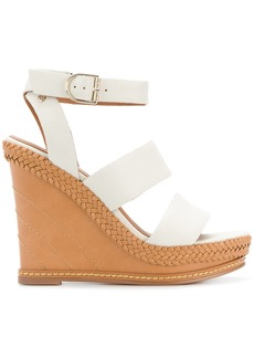 Tommy Hilfiger strappy wedge sandals - White