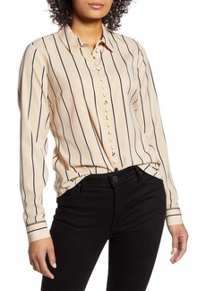 Tommy Hilfiger Stripe Button Up Shirt