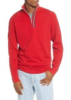 Tommy Hilfiger Stripe Quarter Zip Sweater