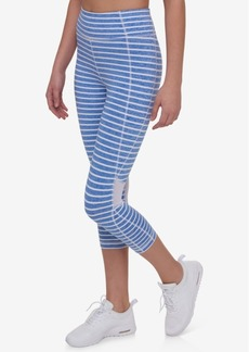 Tommy Hilfiger Striped Capri Leggings, Only at Macy's