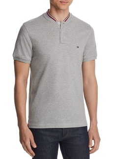 Tommy Hilfiger Striped-Collar Slim Fit Henley