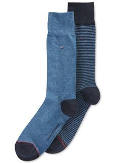 Tommy Hilfiger Striped Dress Socks, 2 Pack