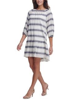 Tommy Hilfiger Striped Drop-Waist Dress