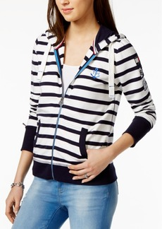 Tommy Hilfiger Striped Hoodie, Only at Macy's