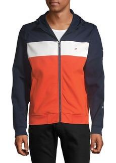 Tommy Hilfiger Striped Hoodie Track Jacket