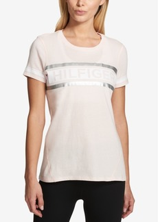Tommy Hilfiger Sport Striped Logo T-Shirt, Created for Macy's