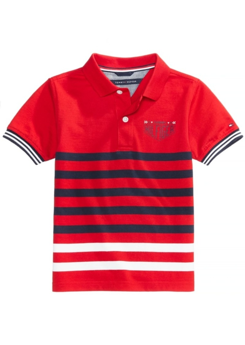 Tommy Hilfiger Tommy Hilfiger Striped Polo Big Boys Shirts