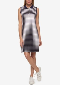Tommy Hilfiger Striped Polo Dress, Only at Macy's