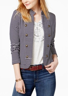 Tommy Hilfiger Striped Sailor Blazer, Only at Macy's