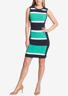 Tommy Hilfiger Striped Sheath Dress