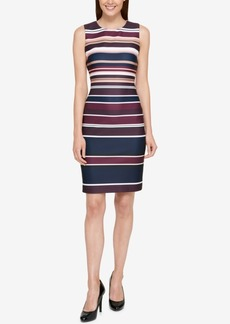 Tommy Hilfiger Striped Sheath Dress