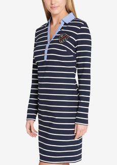 Tommy Hilfiger Striped Shirtdress, Created for Macy's