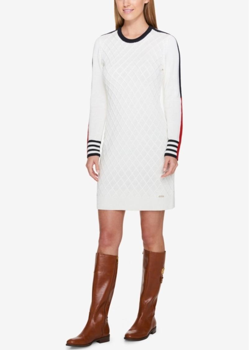 6b92400869e6 Tommy Hilfiger Tommy Hilfiger Striped Sweater Dress