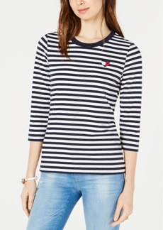 Tommy Hilfiger Striped T-Shirt, Created for Macy's