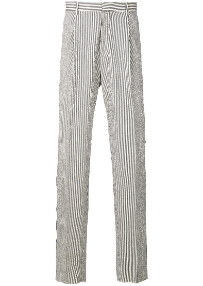 pre order special section cost charm Tommy Hilfiger Tommy Hilfiger striped trousers - Blue | Casual Pants