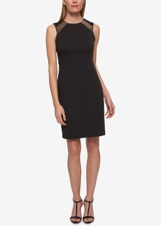 Tommy Hilfiger Studded Sheath Dress