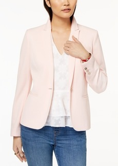 Tommy Hilfiger Textured 3-Pocket Blazer, Created for Macy's