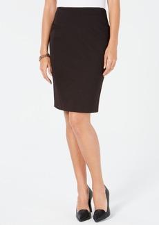 Tommy Hilfiger Textured Pindot Pencil Skirt