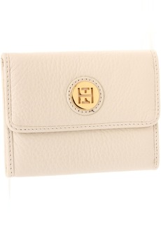 Tommy Hilfiger TH Charm Plaque-French Pebble Wallet