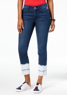 Tommy Hilfiger Tie-Dyed Straight-Leg Jeans, Created for Macy's