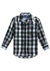 Tommy Hilfiger Tj Plaid Cotton Shirt, Toddler Boys