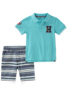 Tommy Hilfiger Boys' Toddler 2 Pieces Polo Shorts Set