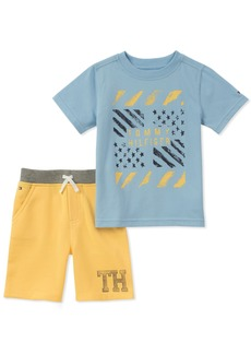 Tommy Hilfiger Boys' Toddler 2 Pieces Shorts Set
