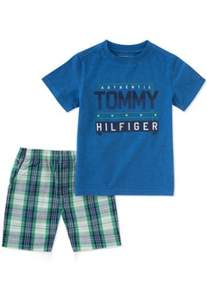 Tommy Hilfiger Toddler Boys' 2 Pieces Shorts Set