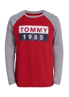 Tommy Hilfiger Toddler Boys Abstract Flag Long Sleeve T-Shirt