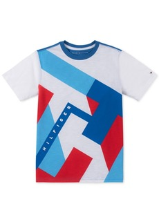 Tommy Hilfiger Toddler Boys Abstract Textured Logo T-Shirt