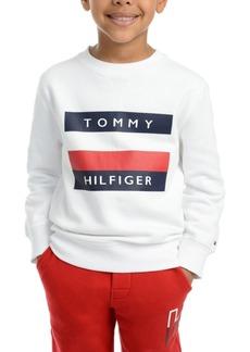 Tommy Hilfiger Toddler Boys Austin Fleece Logo Sweatshirt