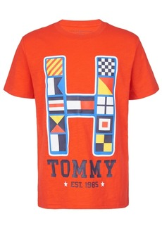 Tommy Hilfiger Toddler Boys Ben Textured Logo T-Shirt