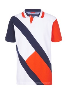 Tommy Hilfiger Toddler Boys Danny Colorblocked Logo Pique Polo Shirt