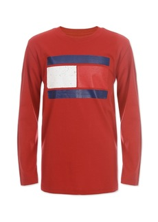 Tommy Hilfiger Little Boys Flag Shirt