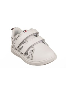 Tommy Hilfiger Toddler Boys Iconic Court Logo Toddler Sneakers