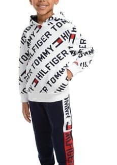 Tommy Hilfiger Toddler Boys Jayden Fleece Logo Hoodie
