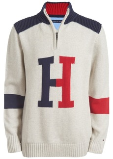 Tommy Hilfiger Toddler Boys Keith Colorblocked 1/4-Zip Logo Sweater