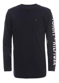 Tommy Hilfiger Little Boys Printed Sleeve Shirt
