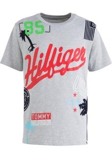 Tommy Hilfiger Toddler Boys Randomizer Heather Logo T-Shirt