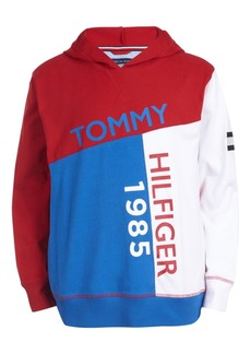 Tommy Hilfiger Toddler Boys Sal Colorblocked Logo-Print Lightweight Hoodie