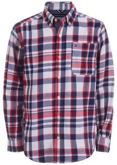 Tommy Hilfiger Toddler Boys Samson Yarn-Dyed Plaid Flannel Shirt